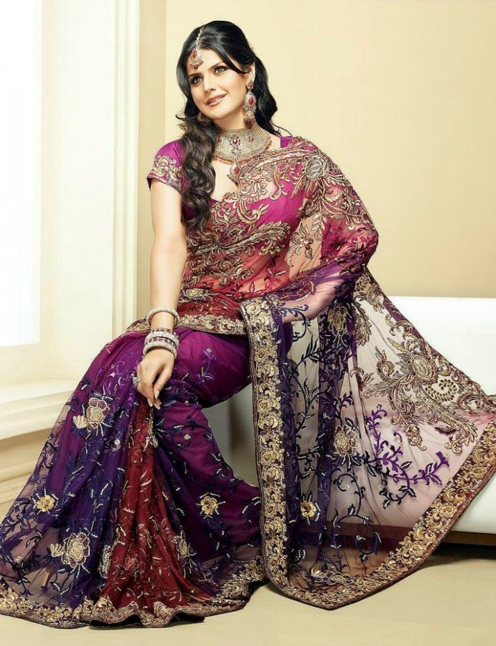 Latest Indian Bridal Saree Trends