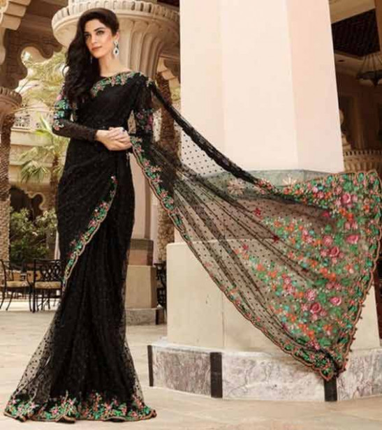Latest Pakistani Bridal Sarees For Weddings in 2020