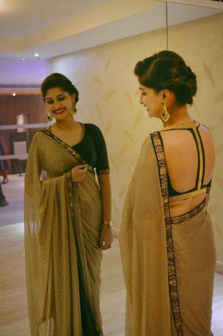 Latest saree blouse designs front and back: Top 30 Trendy
