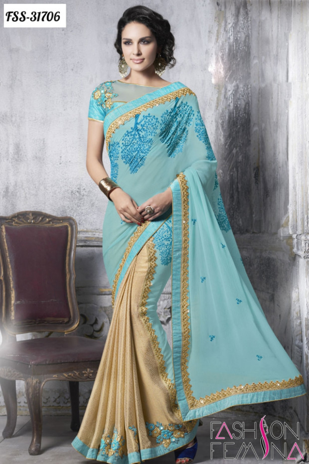 Latest Wedding 2016 Designer Sarees Online Shopping
