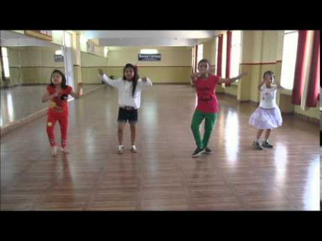 Learn Bhangra dance steps for kids by Rockstar academy