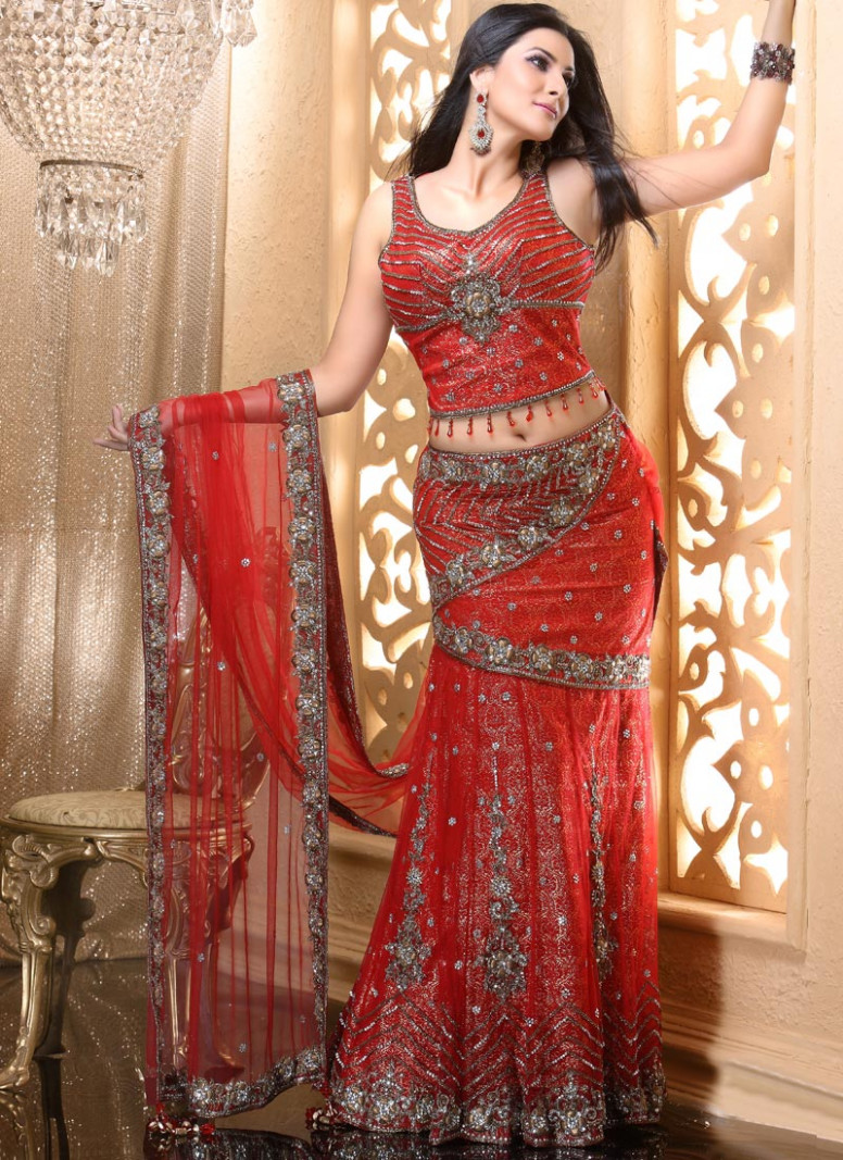 Lehenga Saree - Fashion 2019
