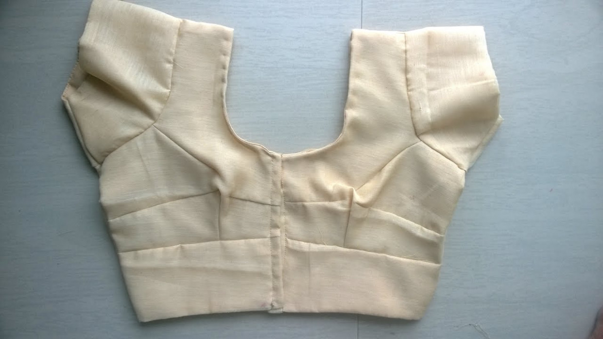 Lining saree blouse cutting and stitching easy method full