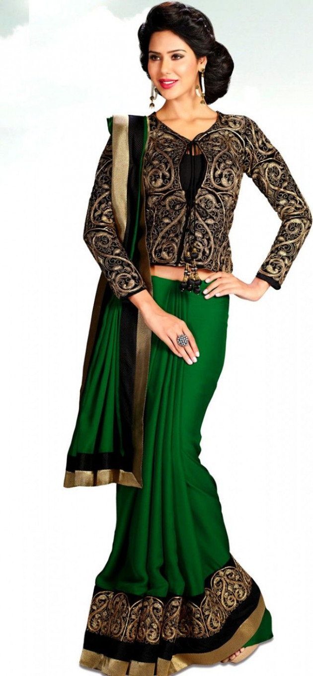 Long Length Blouse For Saree 31  Saree blouse designs