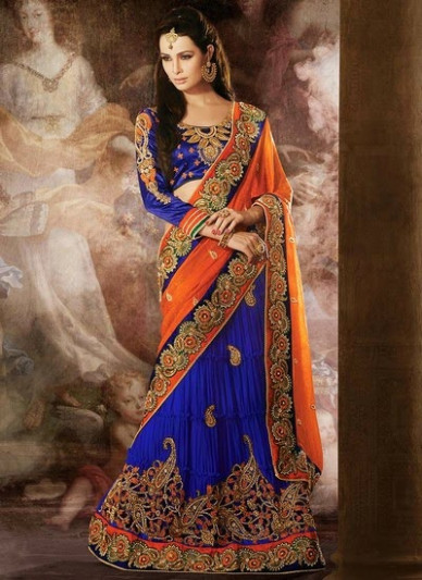 Majestic Saree Collection - Indian Designer Sarees by