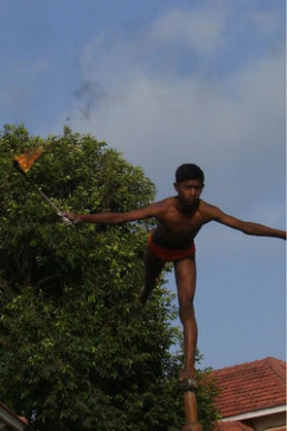 Mallakhamb - Extreme Indian Pole Dancing ~ Damn Cool Pictures