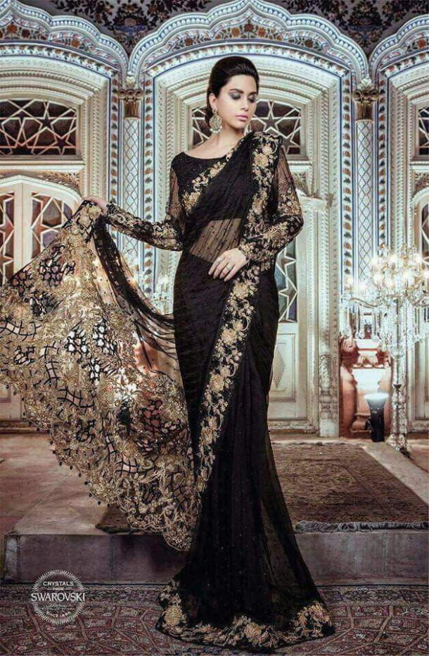 Maria B Chiffon Saree 2018  Pakistani Dresses Marketplace