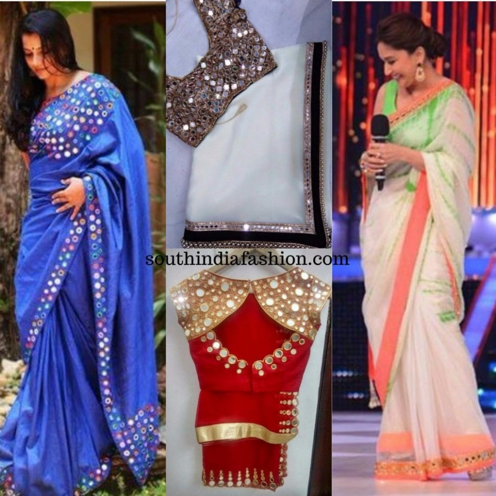 Mirror Work Sarees: A Fancy Addition To Your Wardrobe