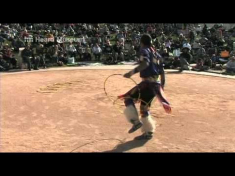 Native American Indian Hoop Dance - Tony Duncan 1st Place