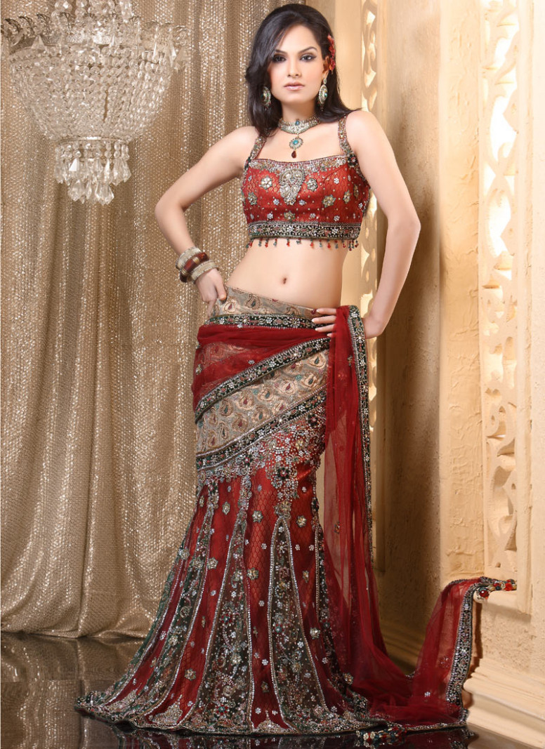 New Indian Saree: Lehenga Sarees