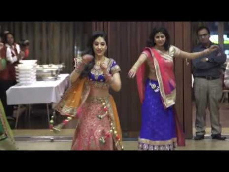 New Indian Wedding Dance by beautiful Bride & Friends