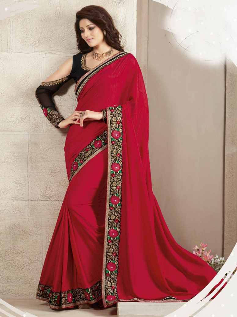 New style beautiful sarees design - Sari Info