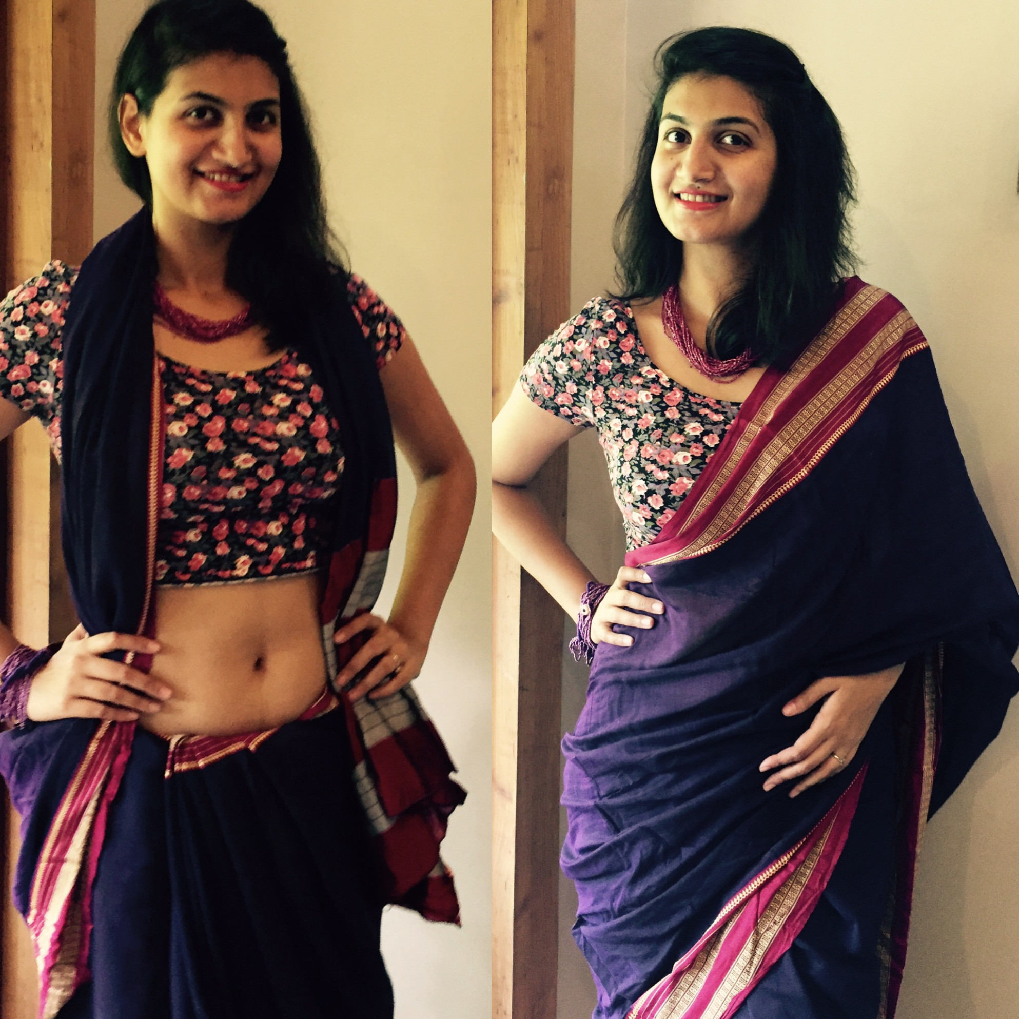 Of Sarees and Crop Tops  Style Style Revolution