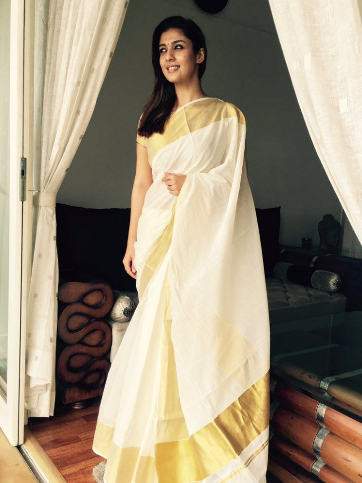 Onam Special: Style Files, How to wear the Kasavu!  JFW