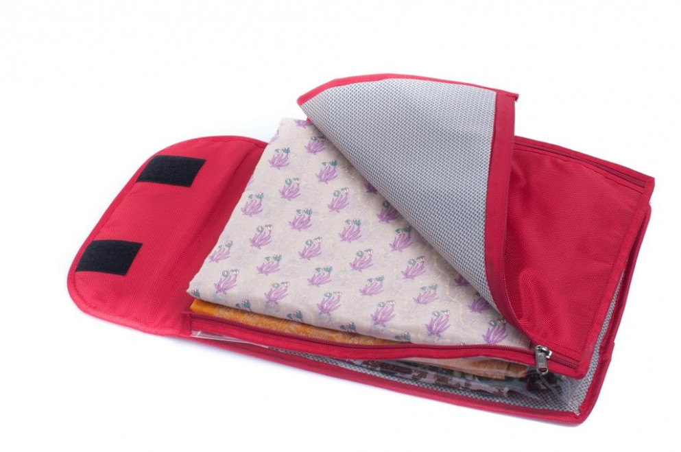 Online Bags R Us - Saree Bags - Saree Covers / Pouch - Red