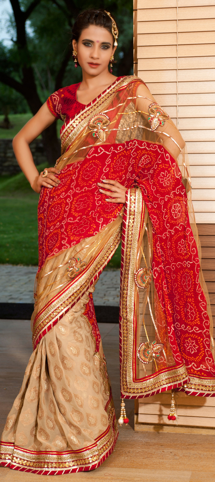 Online Indian Wedding Saree Store for Daughters Wedding