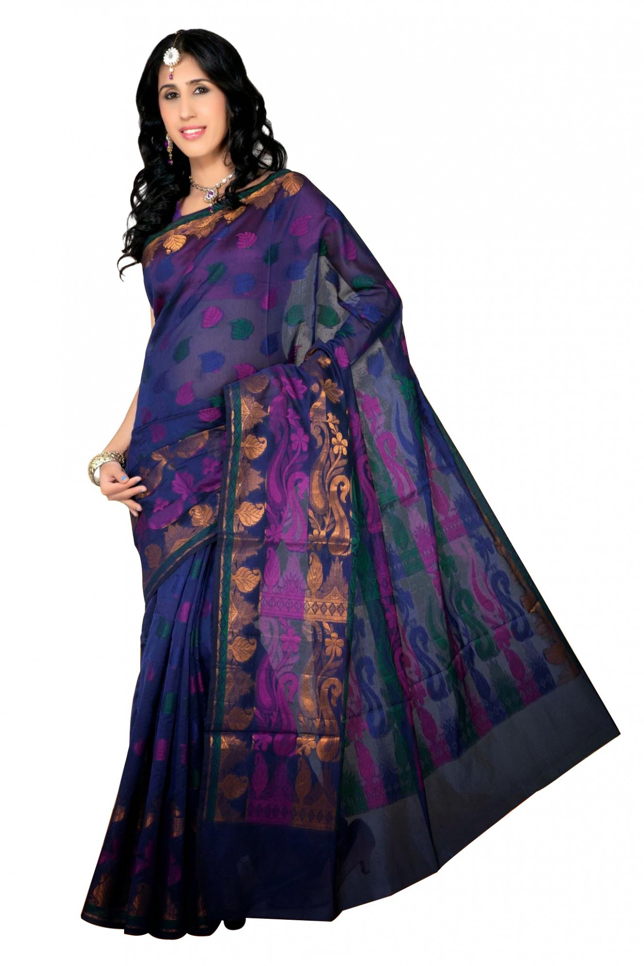Organza Silk saree-Online Shopping-
