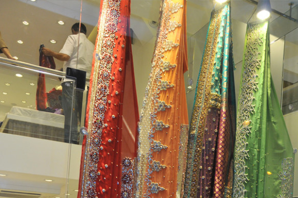 Our Retail Store  Sarees Palace  Indian Ethnic Wear For