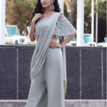 Pant Saree Style - 25 Ideas On How to Wear Pants Style Saree