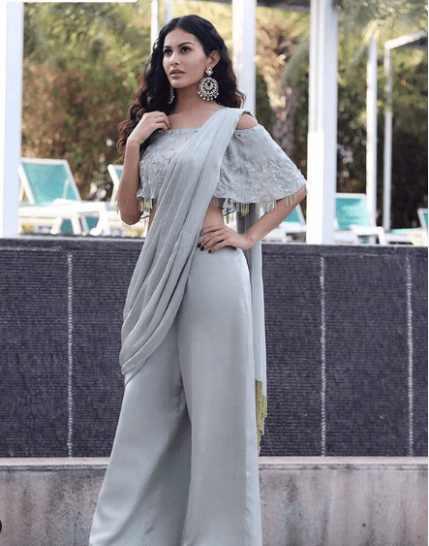 Pant Saree Style - 25 Ideas On How to Wear Pants Style Saree - pant saree