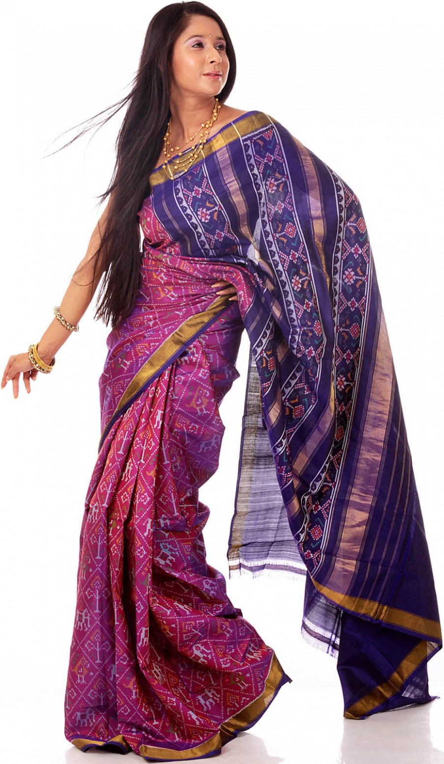 Patola SilK Saree: All About Hand-Woven Patola SilK Sarees