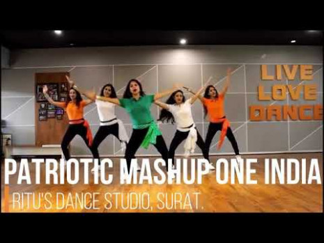 Patriotic mashup one India dance 26th January in 2019