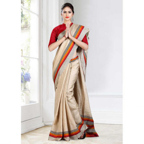 Plain Hotel Saree Uniform, Length: 6.3 M, Rs 800 /piece