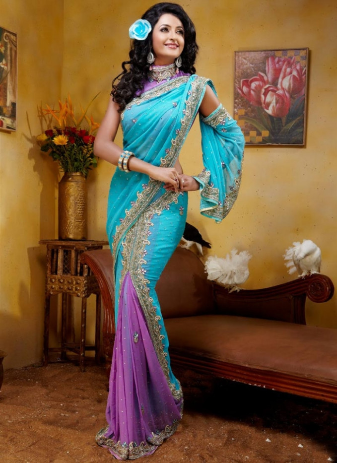 Pre Pleated Saree – A Great Innovation – India's Wedding Blog