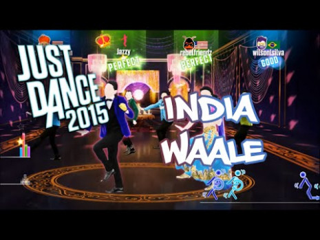 [PS4] Just Dance 2015 - India Waale - ★★★★★ (DLC) - YouTube