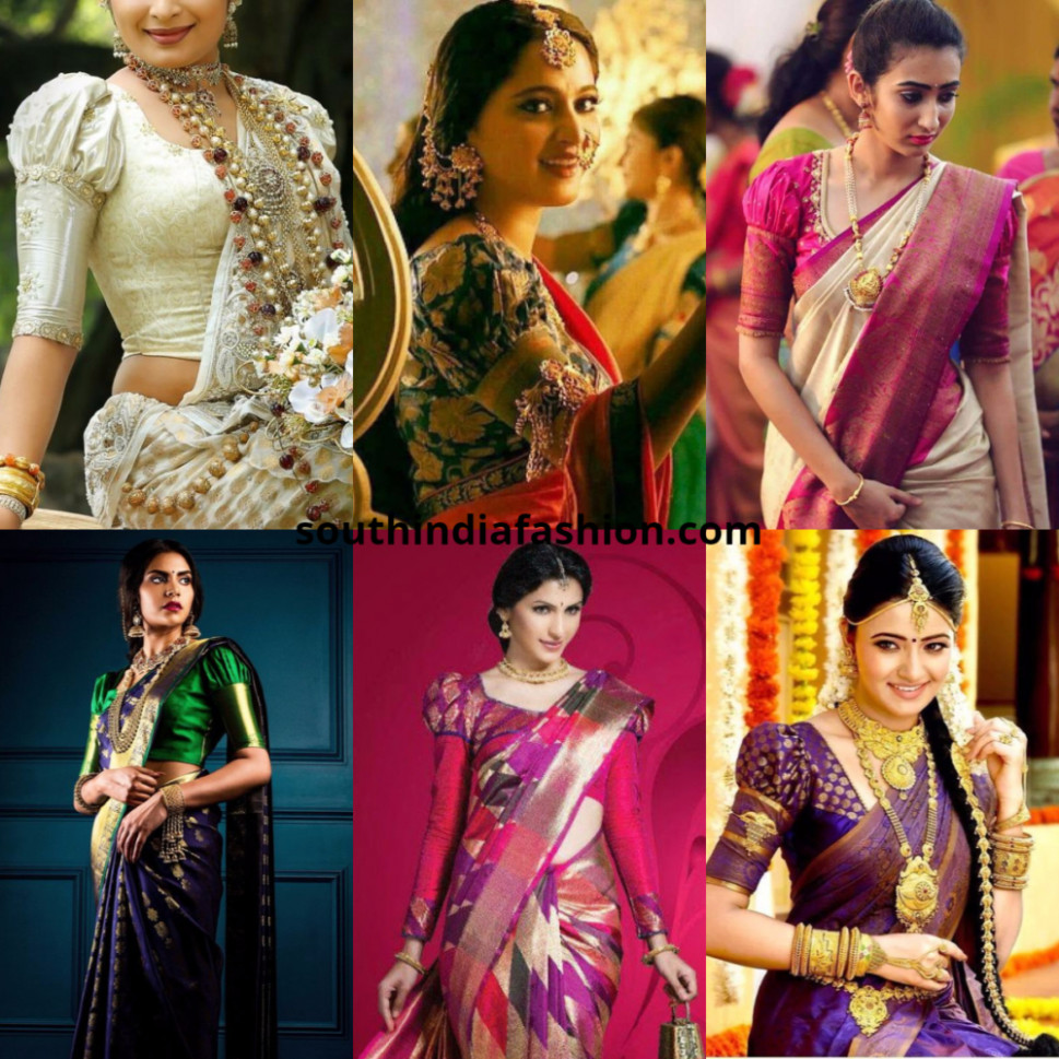 Puff Sleeves Blouse ~ Fashion Trends ~ – South India Fashion