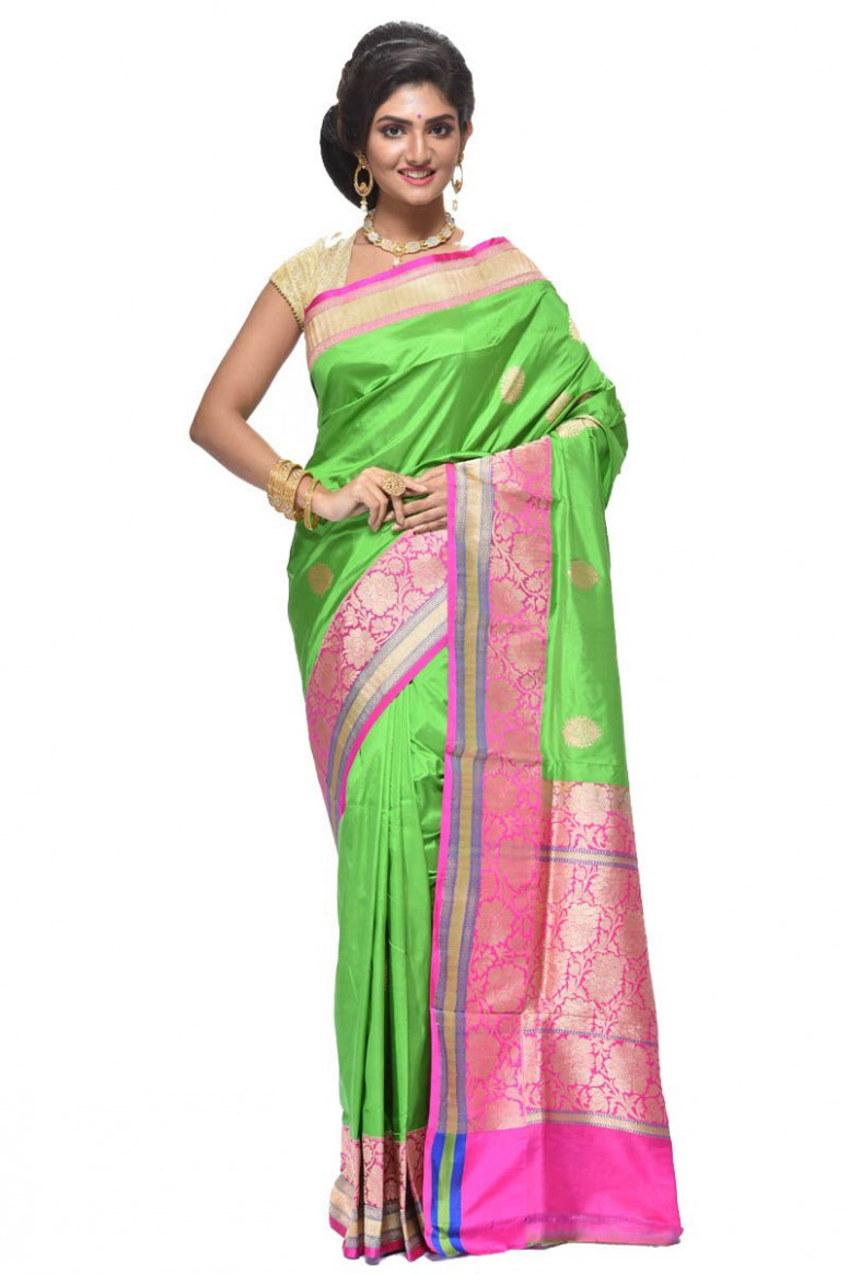 Pure Katan Silk Saree (adi28325)