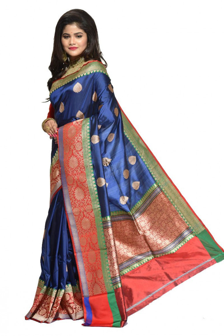 Pure Katan Silk Saree (adi31326)