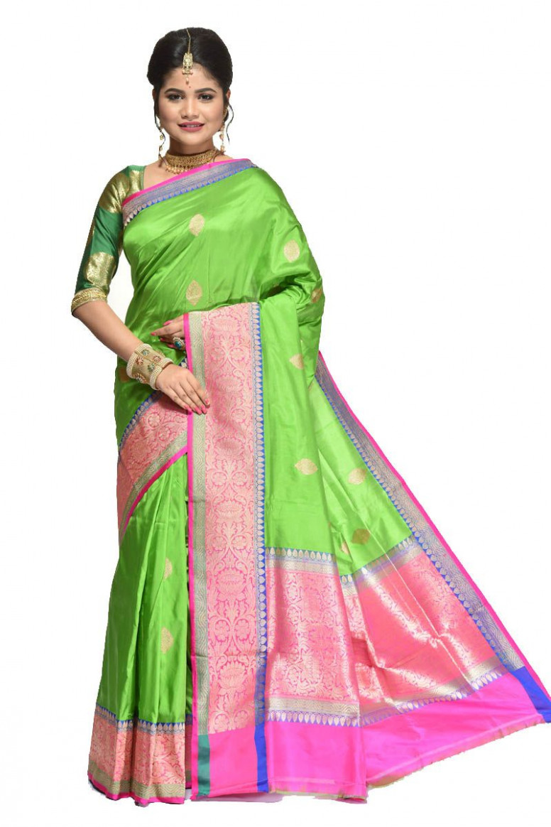 Pure Katan Silk Saree (adi31394)