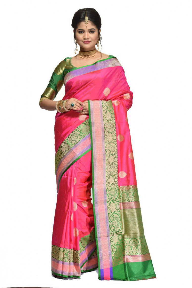 Pure Katan Silk Saree (adi31450)