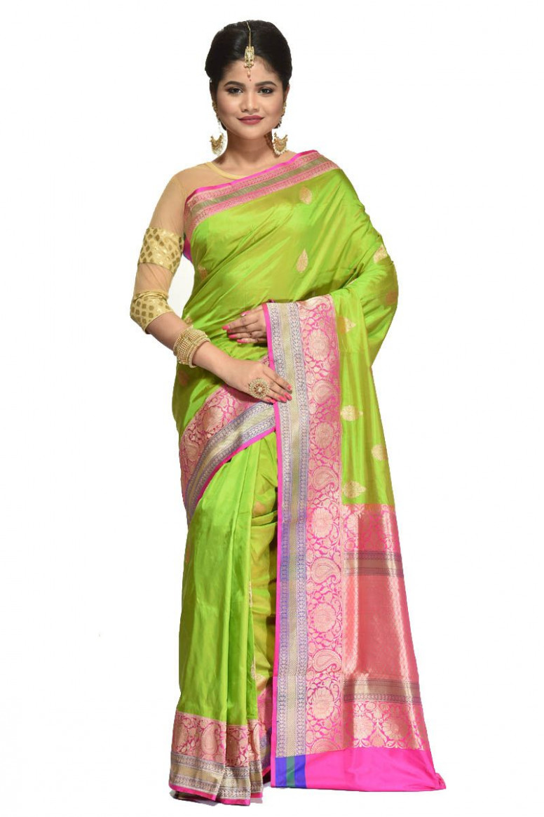 Pure Katan Silk Saree (adi31454)