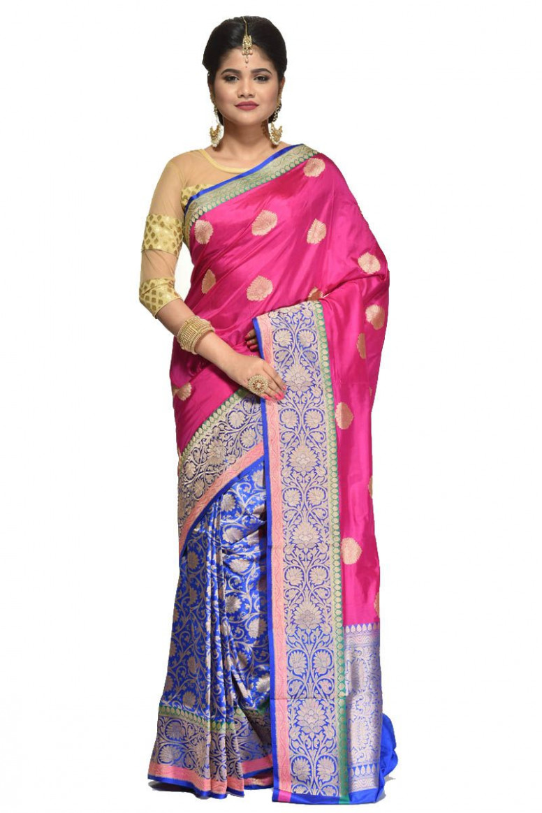 Pure Katan Silk Saree (adi31458)