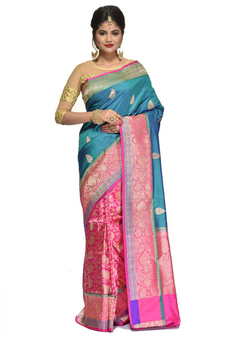 Pure Katan Silk Saree (adi31506)