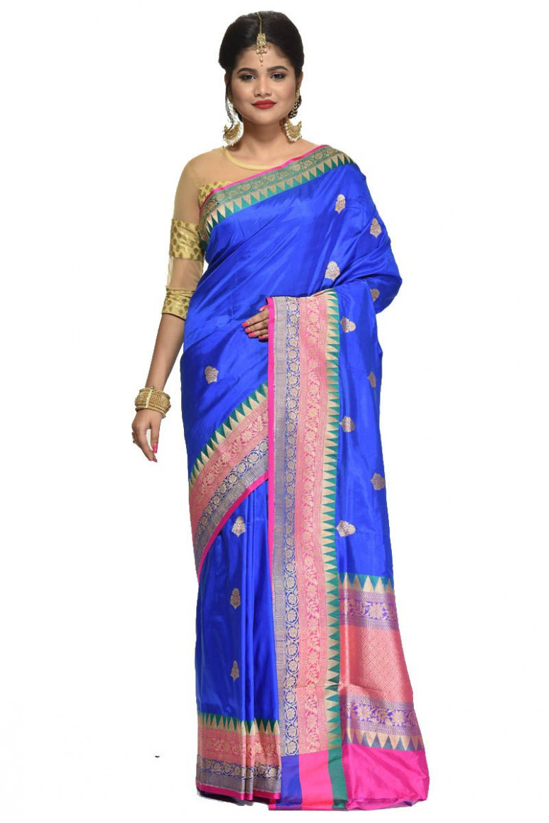 Pure Katan Silk Saree (adi31510)