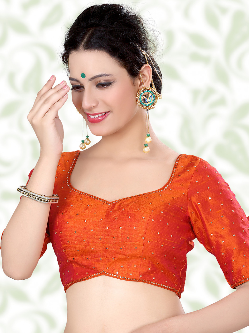 Readymade Blouse - Buy Designer Saree Blouses Online From