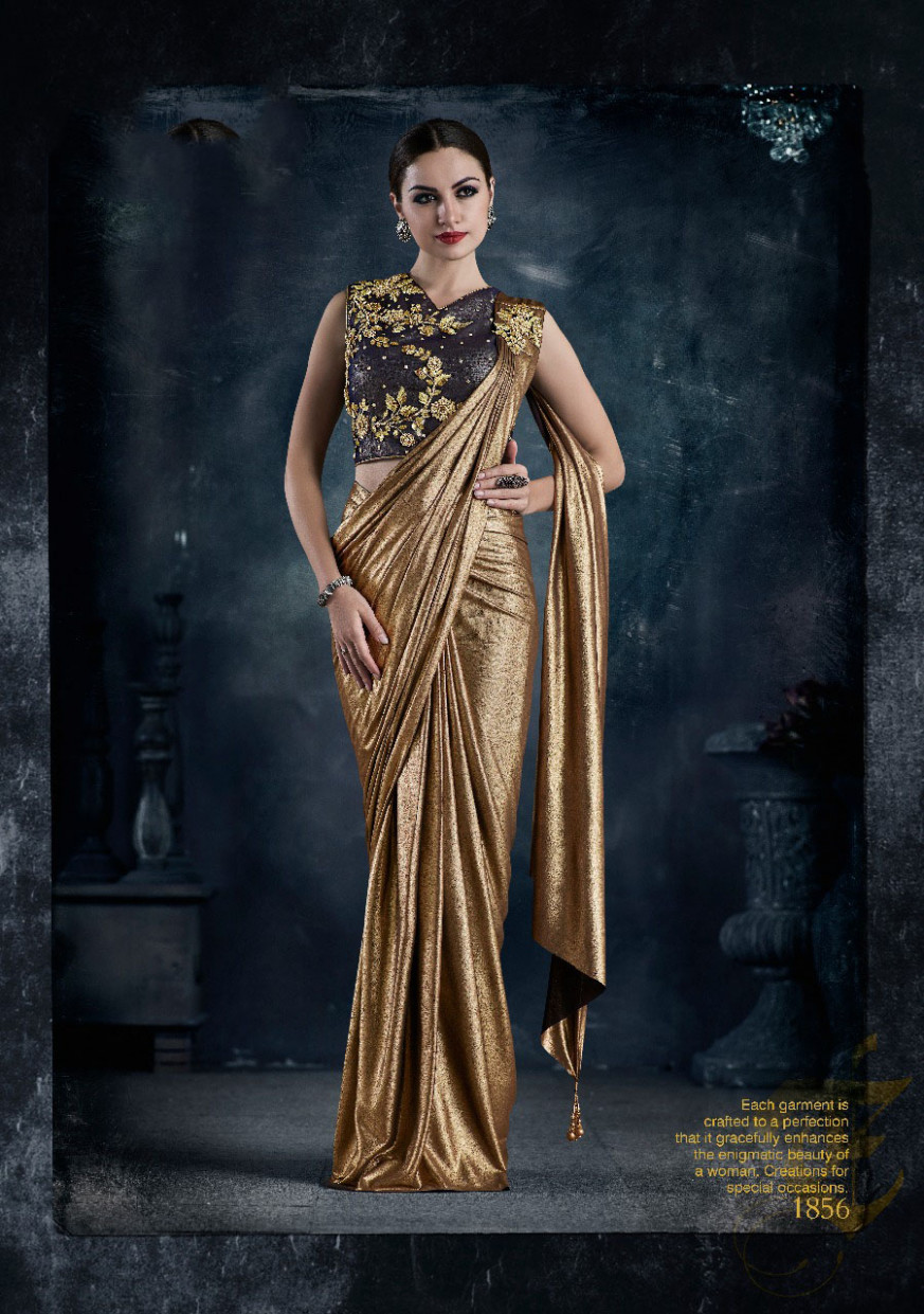 READYMADE DESIGNER (PRE STITCHED) SAREES COLLECTIONS