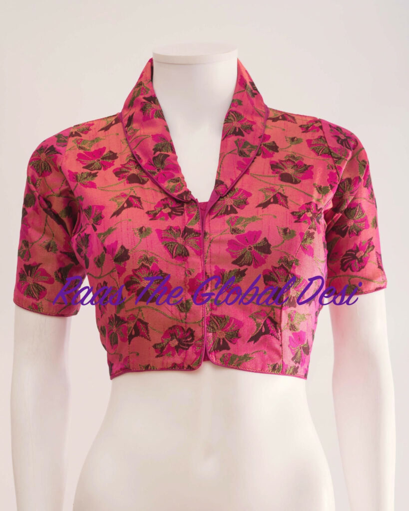 readymade saree blouse online USA (With images)  Trendy