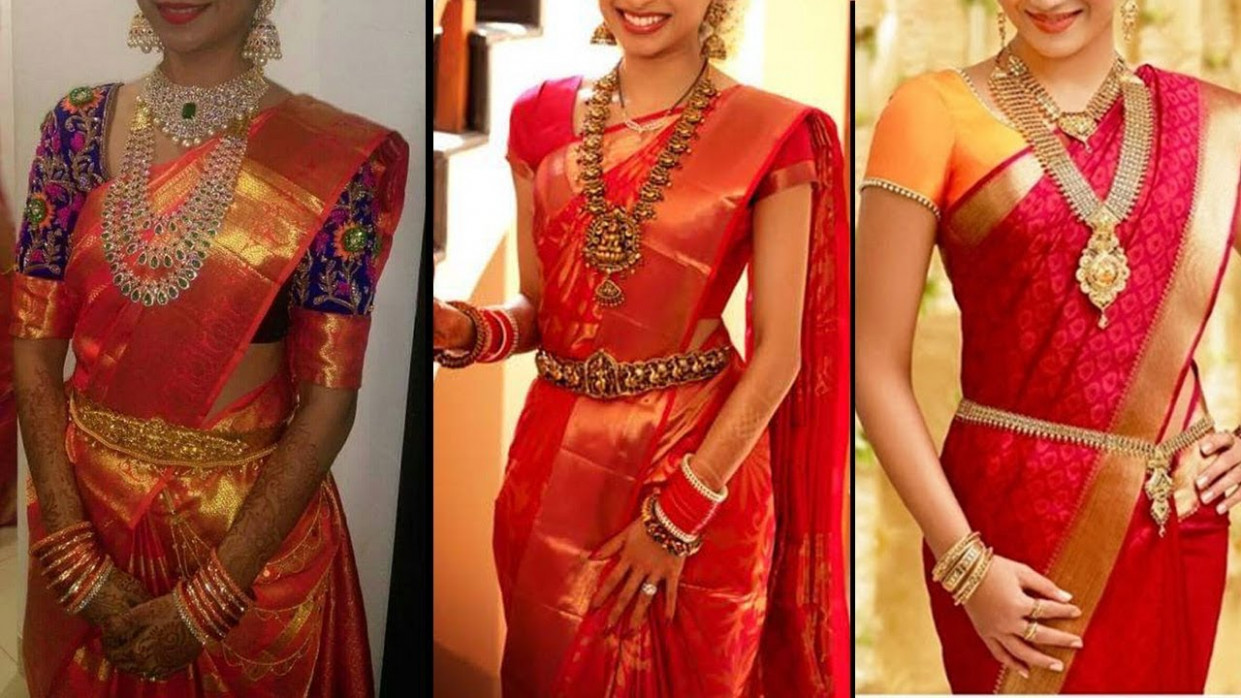 Red Colour Pattu Saree Collection  Ultimate Collection of