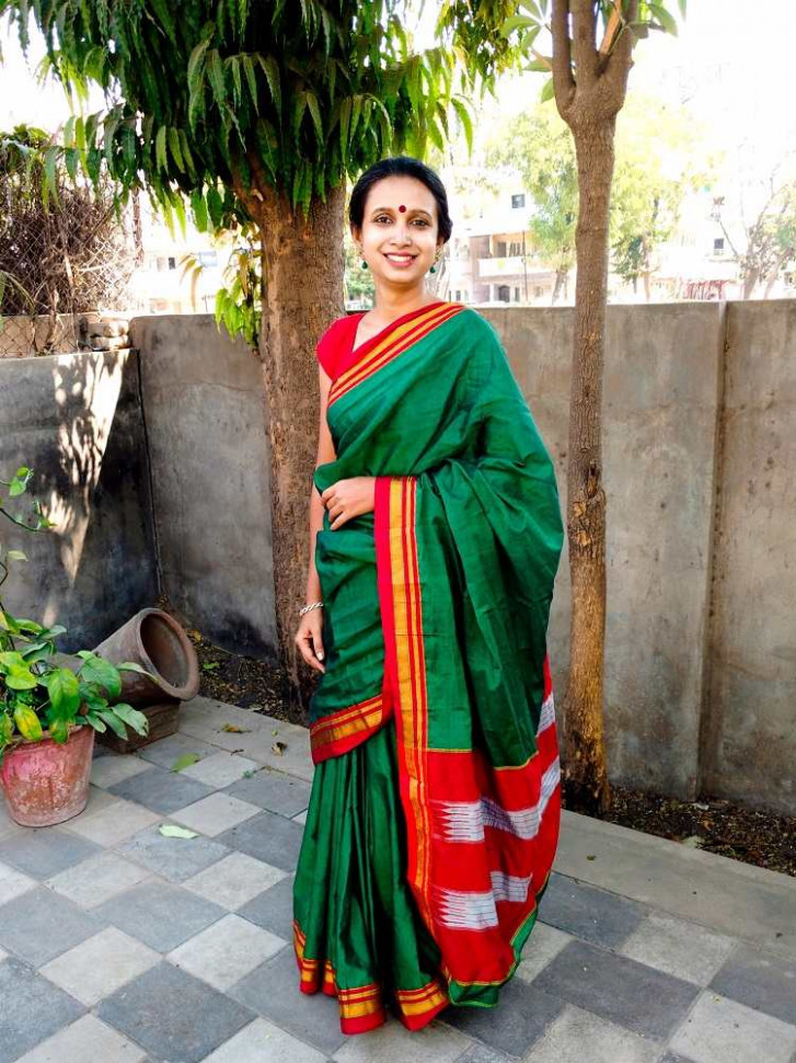 Riding a Rainbow: The Weavers of Ilkal Saree