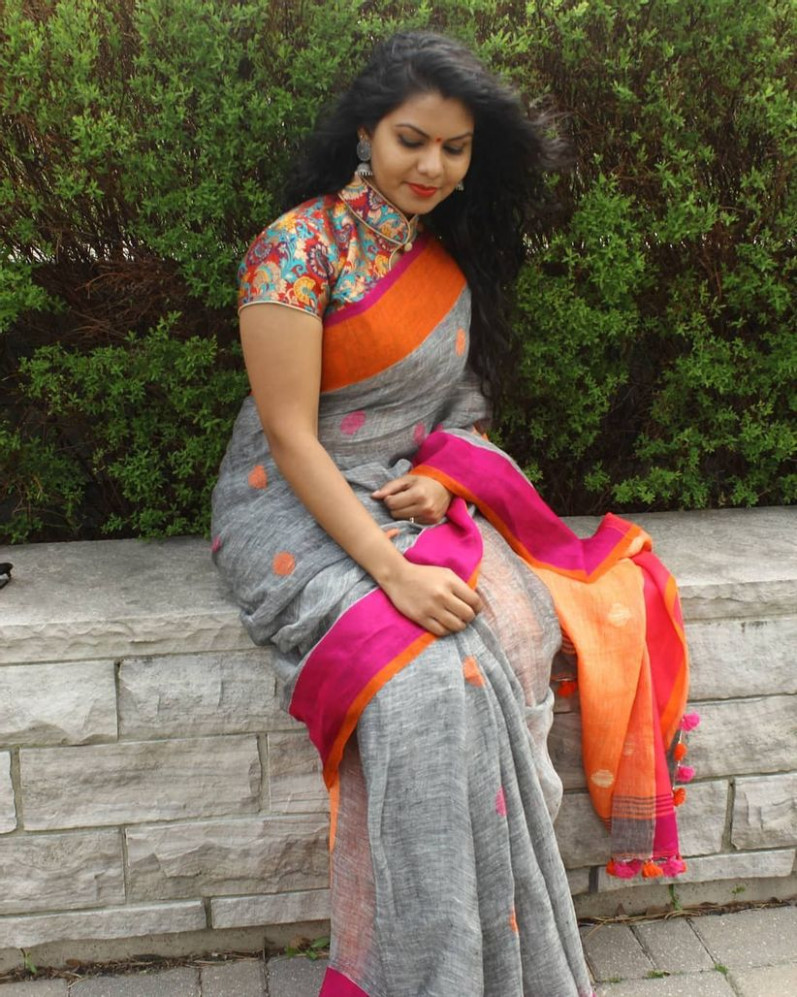 Rock These 10 Saree Blouse Styles If You Are a Plus Size Women