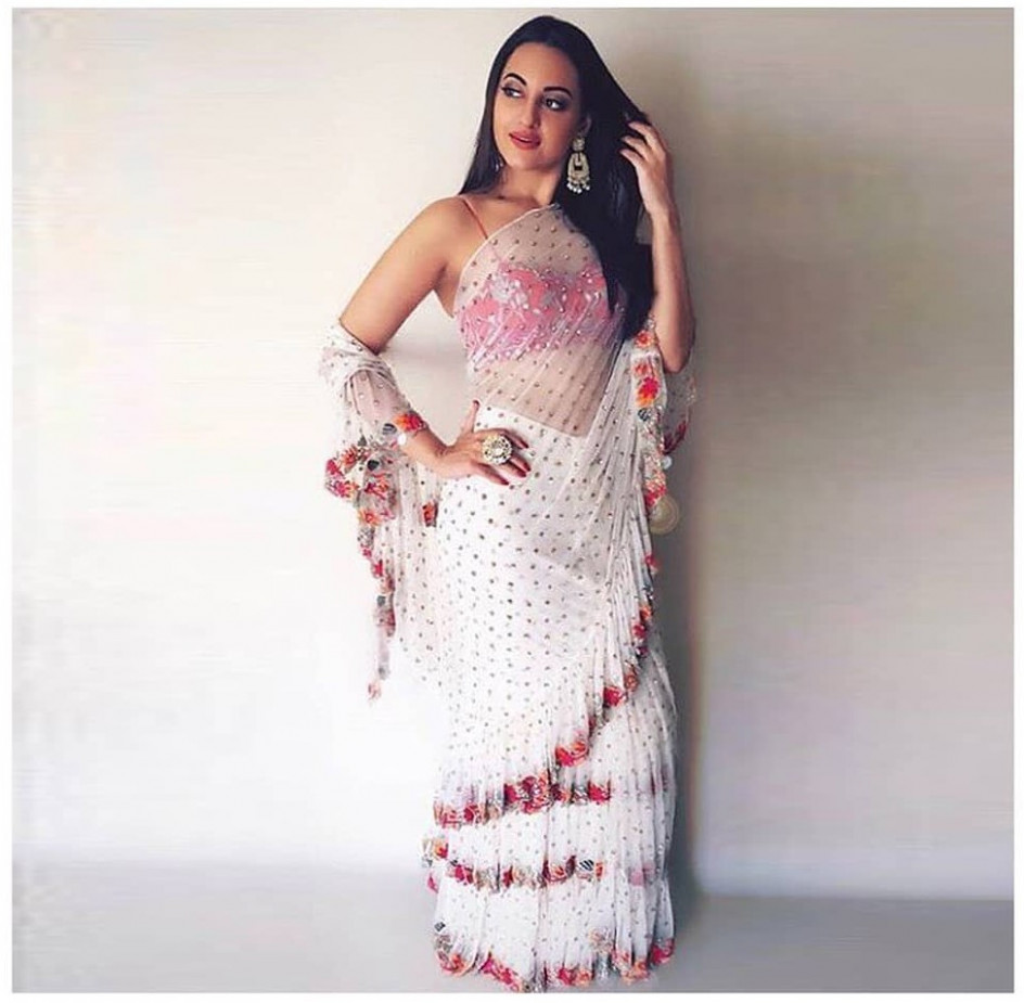 Ruffle Saree Style is the Hottest Trend of this Season 2018