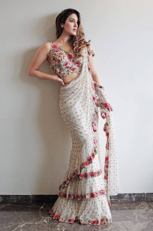 Ruffle Saree Style is the Hottest Trend of this Season