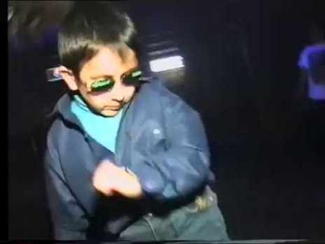 Russian kid dancing at club can't be bothered. 1997. - YouTube