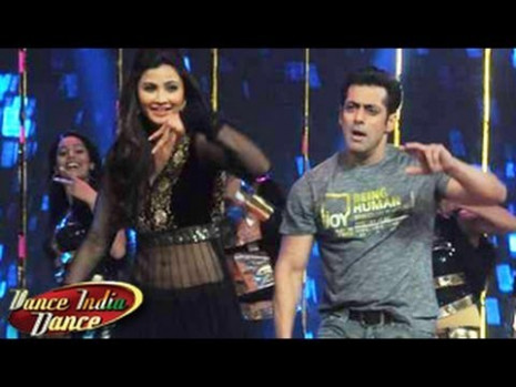 Salman Khan on Zee Tv's Dance India Dance Season 4 - YouTube