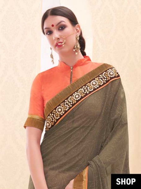 Saree Blouse Designs To Inspire Your Everyday Style  The