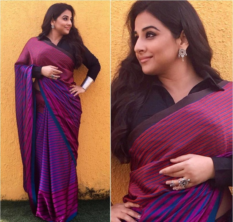 Saree Draping For Plus Size women